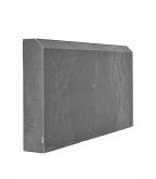 Бордюр тротуарный полимерно-песчаный 500х250х55 мм серый