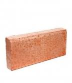 Бордюр тротуарный вибролитьевой   500х210х70 мм красный