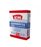 Клей для теплоизоляции КМ Теплофасад 25 кг