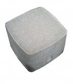 Плитка тротуарная Брусчатка классика 115х115х60 мм серая