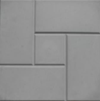 Плитка тротуарная   Калифорния 300х300х30 мм серая