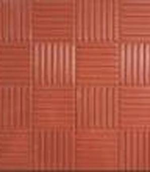 Плитка тротуарная   Паркет 300х300х30 мм красная