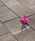 Плитка тротуарная разноразмерная Новый город color mix кварцит 324 шт., 10,37 м.кв.