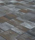 Плитка тротуарная разноразмерная Новый город color mix песчаник 324 шт., 10,37 м.кв.