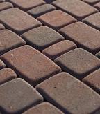 Плитка тротуарная разноразмерная Старый город color mix клинкер 760 шт., 11,52 м.кв.