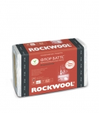 Шумоизоляция Rockwool Флор Баттс 25х600х1000 мм 4,8 кв.м