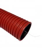 Труба двустенная гофрированная d160 мм бухта 50 м SN4 с протяжкой